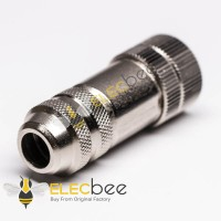 M12 Field Wireable Connector