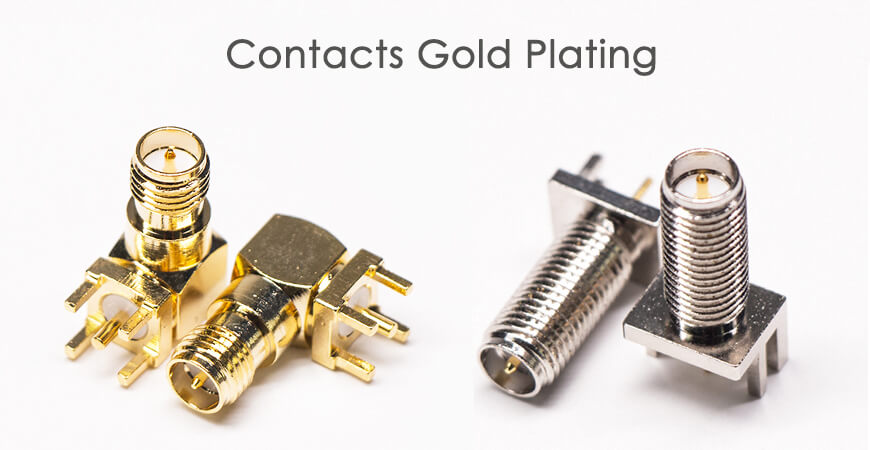 contacts gold plating
