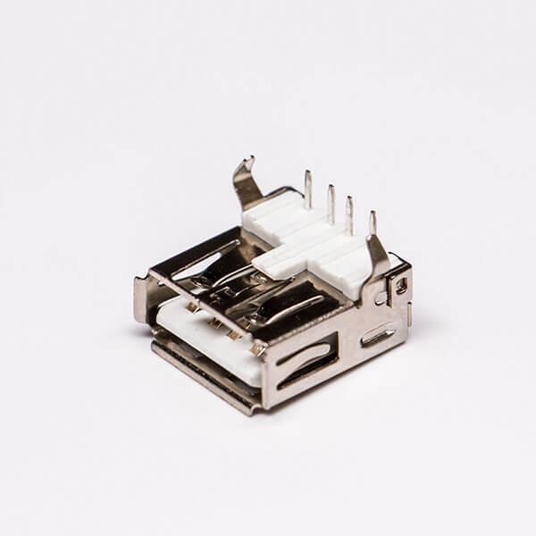 usb2.0接口type a弯式母头插板接PCB板