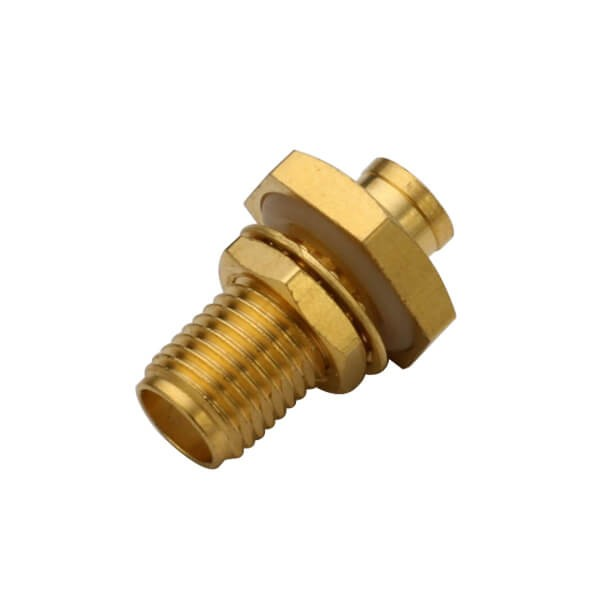 SMA Connector Solder Type Waterproof Straight Female for Cable UT141