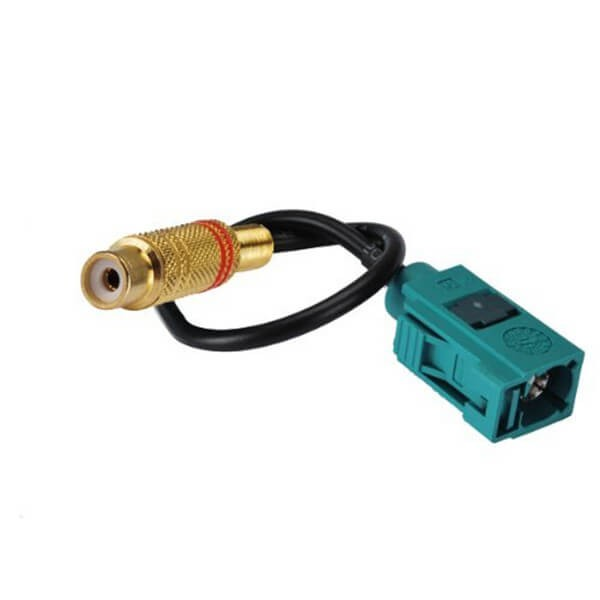 RCA to Fakra Cable RG174 Assembly RF Coaxial Cable