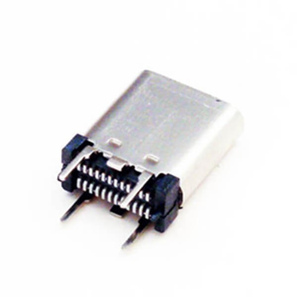 3.1 Vertical C Type 24 Pin Female USB Connector