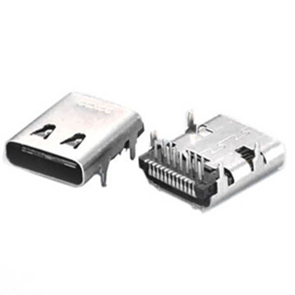 OEM Factory Price 3.1 Type C Female 24 Pin USB C Type Connector